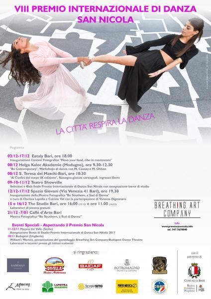 VIII Premio Internazionale di Danza San Nicola