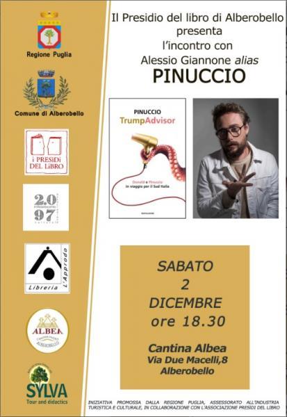 "PINUCCIO presenta  ""TRUMPADVISOR"""