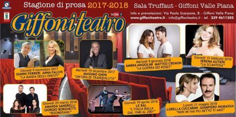 Giffoni Teatro stagione 2017/2018