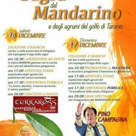 XXVII^ SAGRA DEL MANDARINO e degli agrumi del golfo di Taranto.