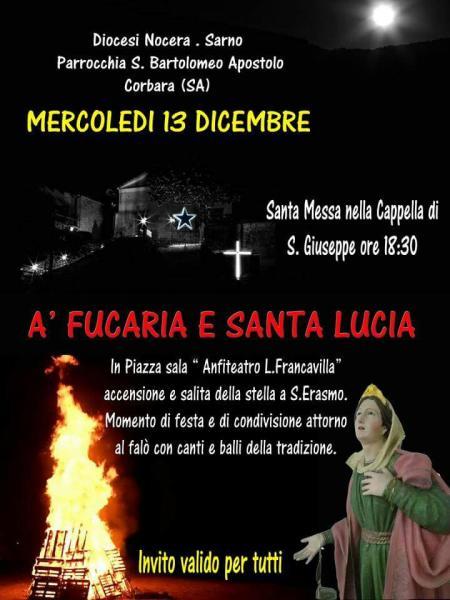 'A fucaria e S. Lucia