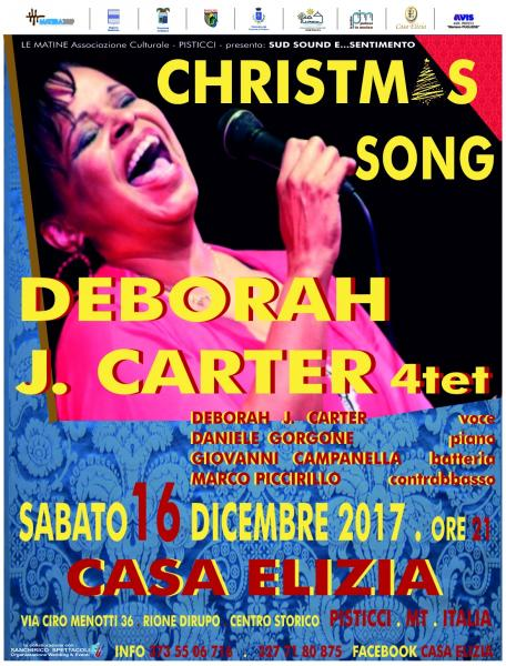 DEBORAH J. CARTER 4tet ''CHRISTMAS SONG''