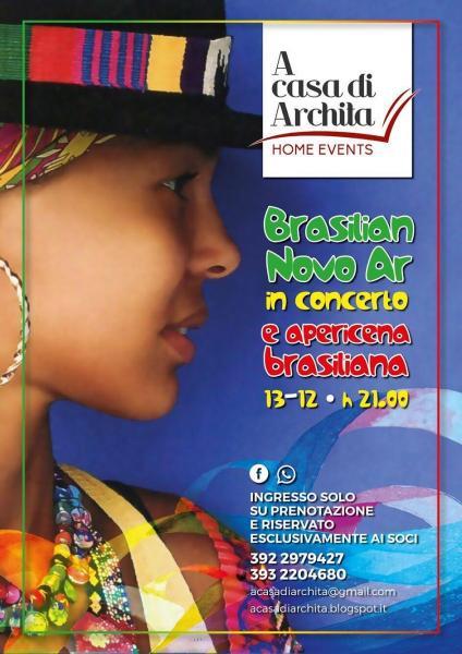 """""""BRASILIAN NOVO AR"""" in concerto  & APERICENA BRASILIANA"""
