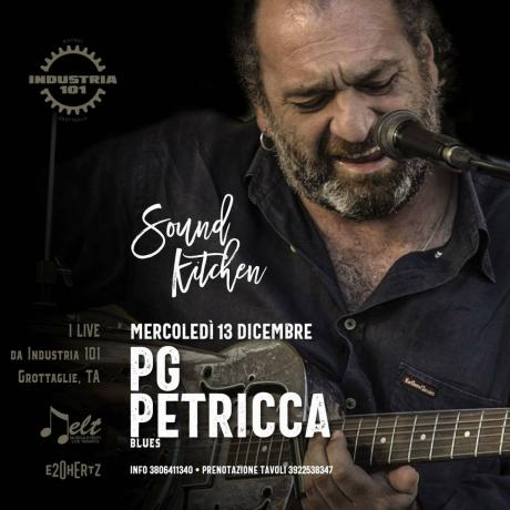 Pg Petricca live blues @ Industria 101 - Grottaglie (TA)