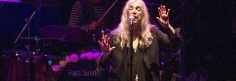 Patti Smith, Omaggio a Roma – An evening of words and music with Patti Smith. Jesse Smith al piano