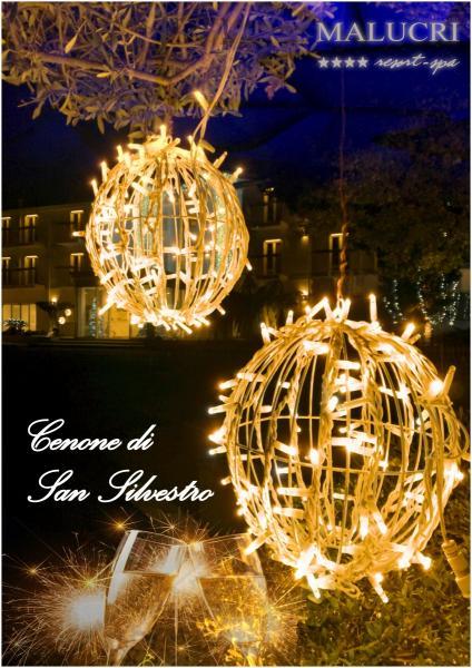 Gran Cenone di San Silvestro con Musica dal Vivo, Balli ed Animazione per Adulti e Bambini al Malucri Resort di Borgo Celano (fg)