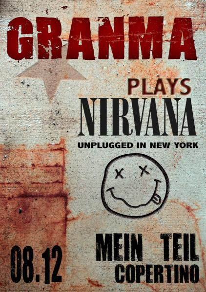 GRANMA plays Nirvana Unplugged in New York al Mein Teil di Copertino (Le)