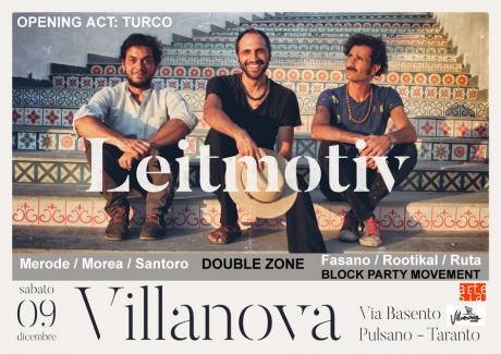 Leitmotiv in concerto / opening act: Turco / Double zone dj set