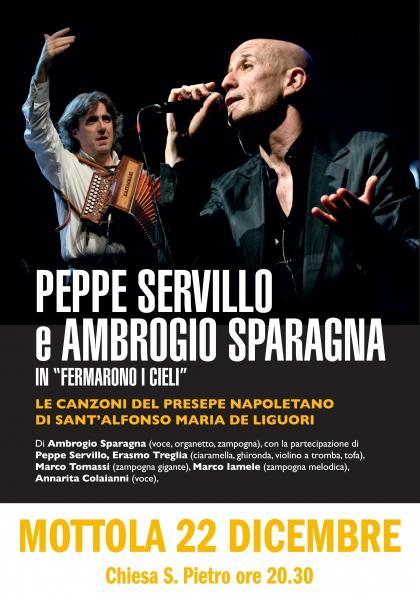 Fermarono i cieli - Ambrogio Sparagna e Peppe Servillo in concerto