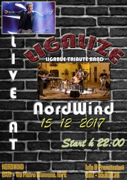 Ligalize - LIGABUE Tribute in concerto al Nordwind discopub