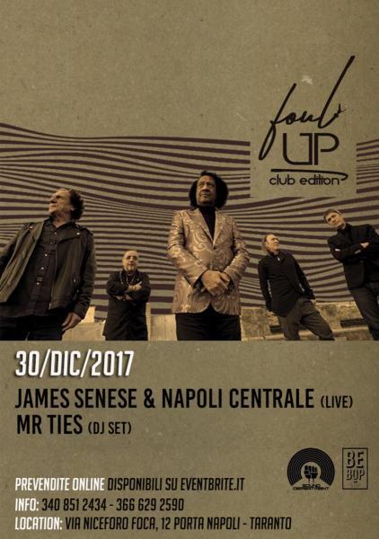 James Senese & Napoli Centrale + Mr Ties djset