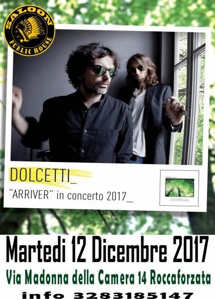 I Dolcetti live at Saloon Public House