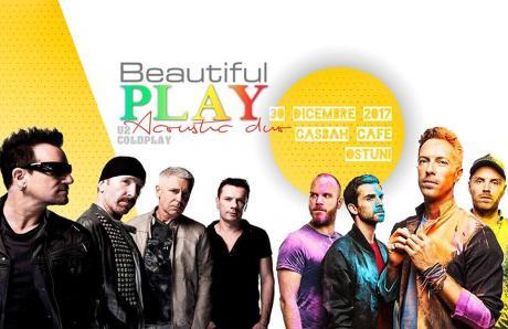 Beautiful Play U2 & Coldplay Acoustic Duo live Casbah Art Cafè