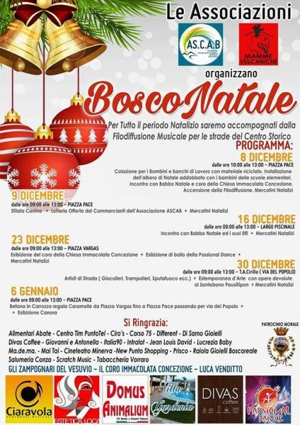 BoscoNatale 2017 tante idee regalo ai mercatini natalizi di Boscoreale tra concerti, buskers e spettacoli di danza