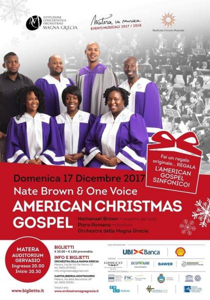 American Christmas Gospel: Nate Brown & One Voice