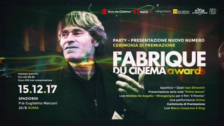 Party di premiazione Fabrique du Cinéma Awards