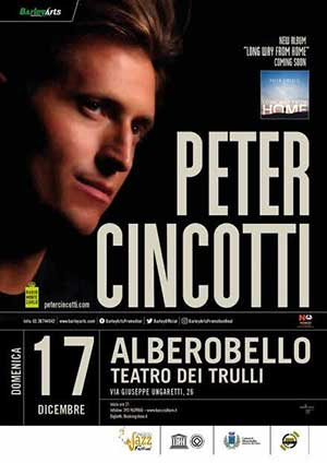 PETER CINCOTTI in concerto
