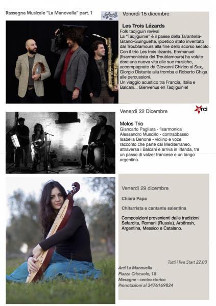 """Rassegna Musicale """"La Manovella"""""""