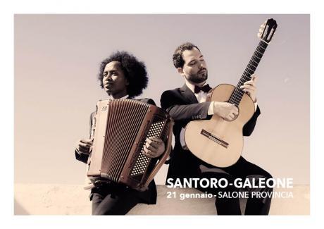 Michele Santoro & Bruno Galeone