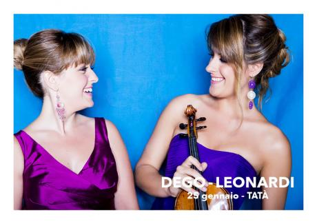 Francesca Dego, Violino Francesca Leonardi, Pianoforte
