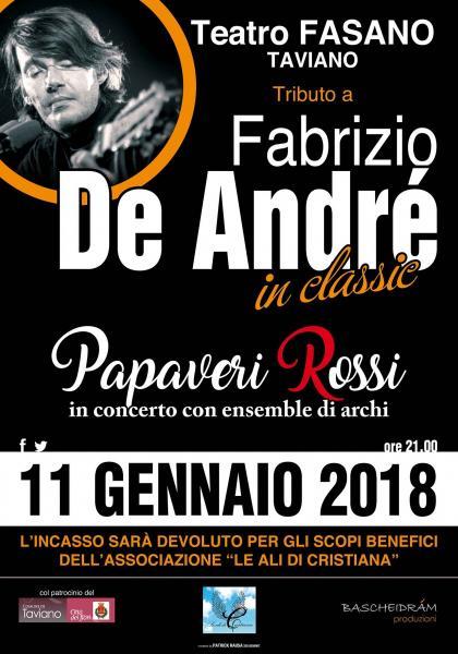 TRIBUTO a FABRIZIO DE ANDRÉ - PAPAVERI ROSSI