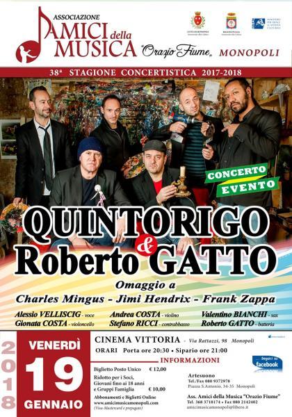 Quintorigo & Roberto Gatto