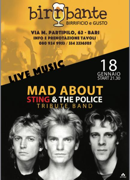 Sting & The Police tribute band