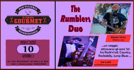 THE RUMBLERS DUO / Il Pirata Gourmet (Mola)