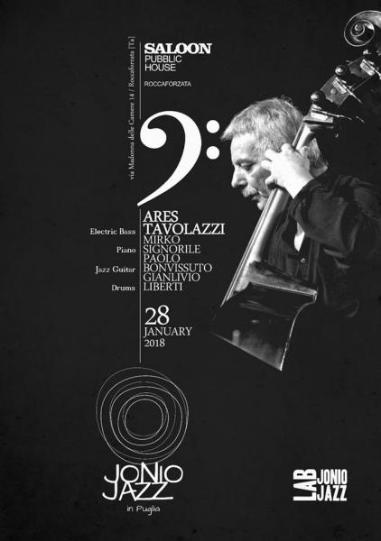 ARES TAVOLAZZI meets Jonio Jazz LAB