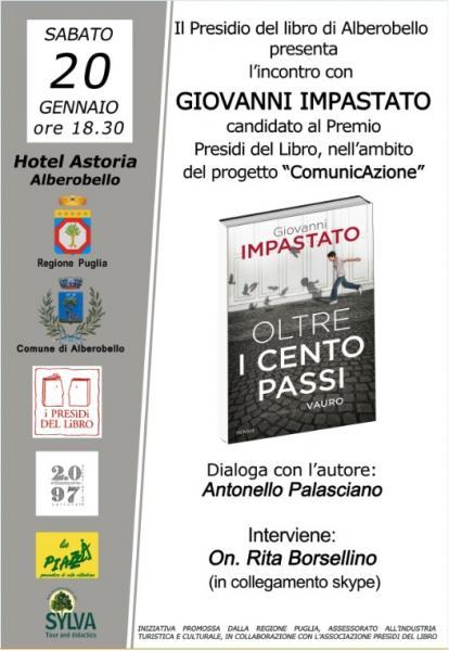 Conversazione con Giovanni Impastato - Candidato Premio Presidi del Libro