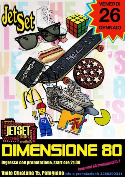 Dimensione '80 Carnevali al Jetset
