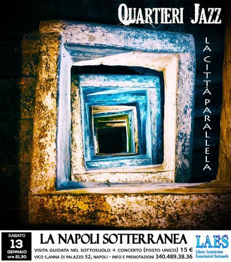 Quartieri Jazz Viaggio Tra Musica e Storia  Nella Citta' Parallela