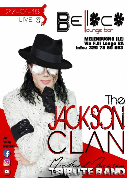 The JACKSON CLAN Live@ BELLOCO LOUNGE BAR