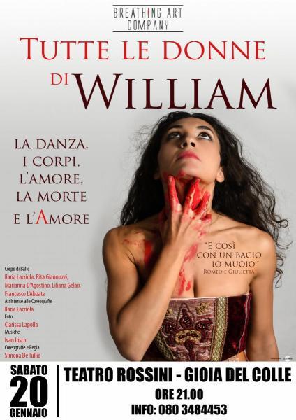 TUTTE LE DONNE DI WILLIAM