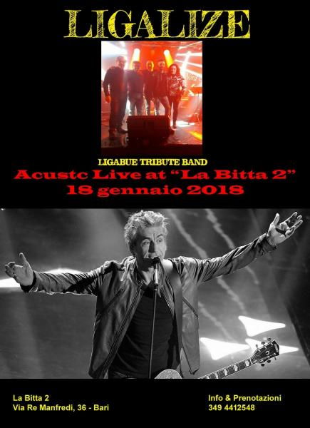 LIGALIZE (Tribute Band Ligabue) Live at La Bitta 2