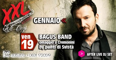 Bagus Band (Omaggio a Cremonini) at XXL Music Pub