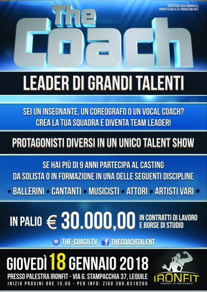 """Ironfit ospita """" The Coach"""", il casting per grandi talenti !"""
