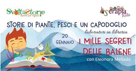 Serapia in Libreria: I mille segreti delle balene