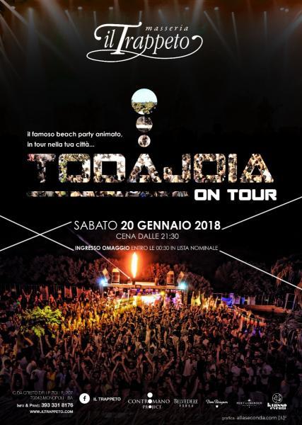 TODAJOIA on Tour 2018