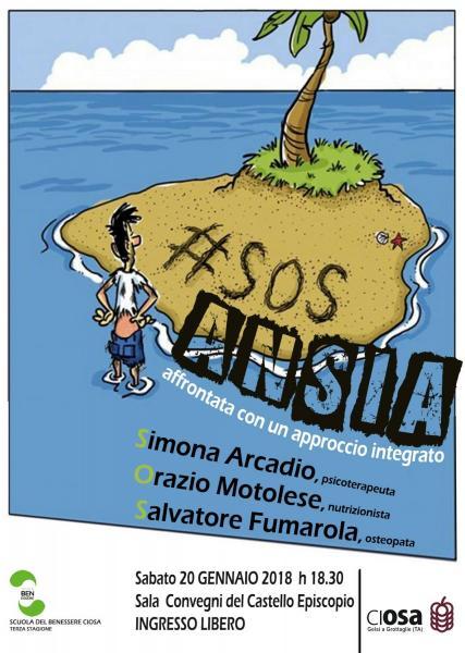 SOS ANSIA -affrontata con un approccio integrato
