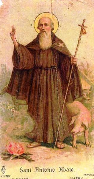 Benedizione degli animali in onore di Sant'Antonio Abate