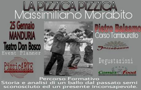 Seminario sulla pizzica-pizzica a cura di Massimiliano Morabito e Piero Balsamo, a cura di Pizzicarte