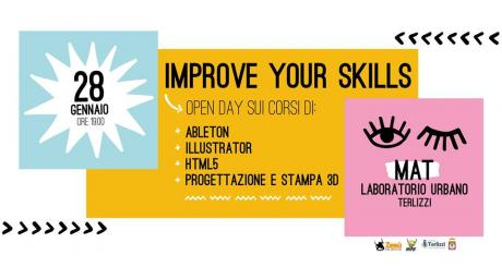 Improve your skills - presentazione workshop al MAT di Terlizzi