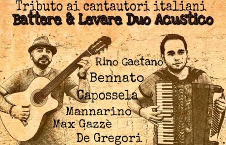 Battere e Levare - Omaggio ai cantautori italiani a Bisceglie