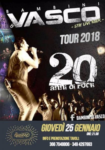 I BAMBINI DI VASCO - TOUR 2018 Vasco Rossi Tribute Band