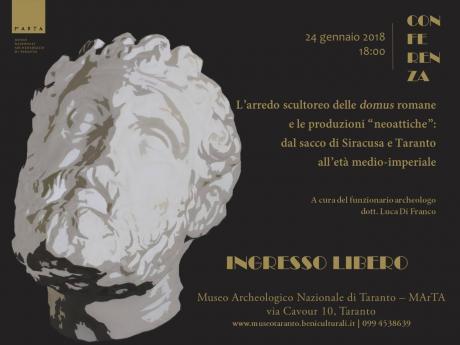 Conferenza incontro al marta l arredo scultoreo delle for Arte nell arredo