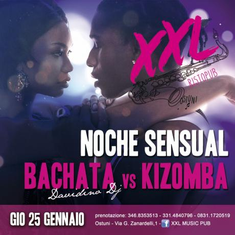 Noche Sensual // Giovedi' Latino at XXL MUSIC PUB