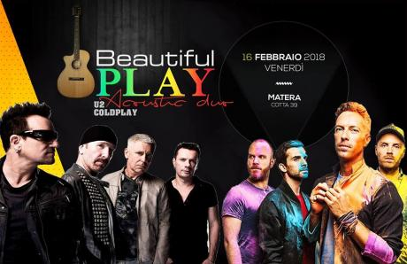 Beautiful Play U2 & Coldplay Acoustic Duo live Cotta39 Matera