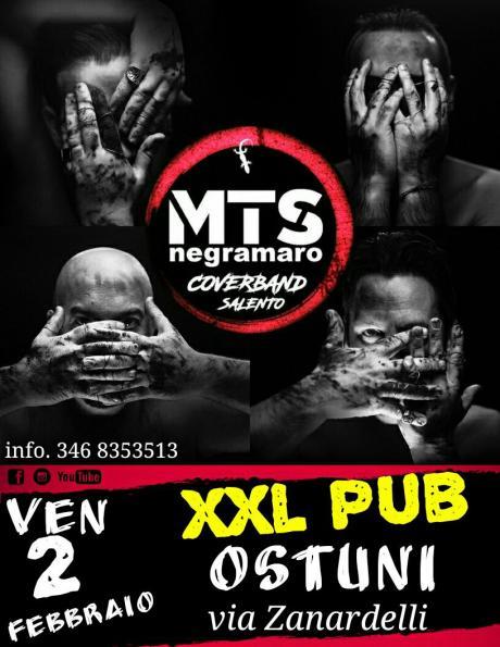 Mts Negramaro cover band prima volta ad Ostuni Xxl