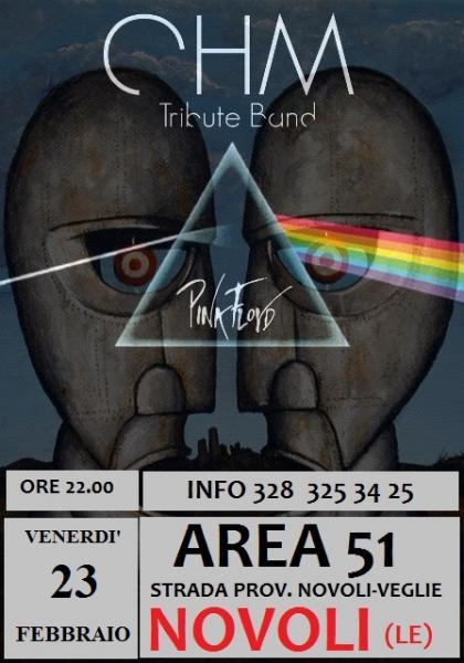 OHM PINK FLOYD LIVE - NOVOLI (LE) - AREA 51